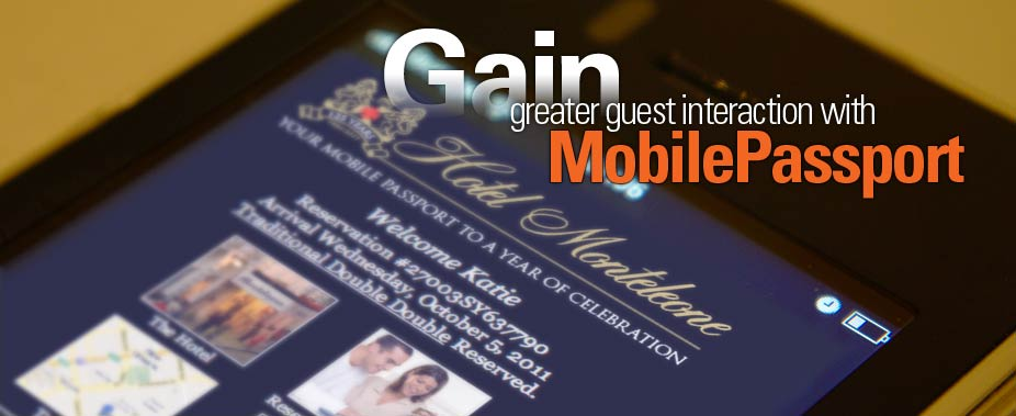 In house Guest interaction with Mobile Passport